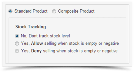 Stock Tracking