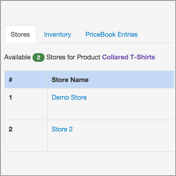 Product Stores
