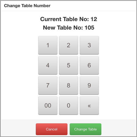 Change Table